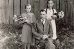 II wojna światowa, Kierownik Szkoły Antoni Koczur, ok. 1941 r.