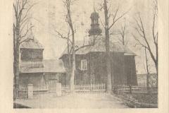 Ogólny widok starego kościoła