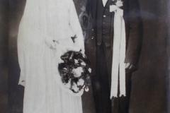 Strój ślubny 1926 r.