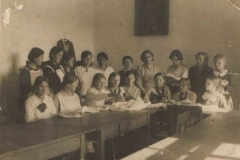 W szkole, 1932 r.