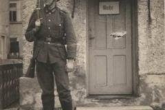 II wojna światowa, Żołnierz niemiecki w Przytkowicach