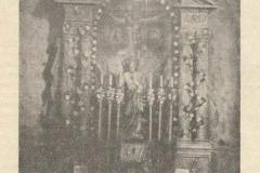 Renesansowy ołtarz z wyposażenia starego kościoła