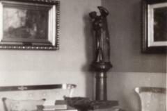 Wnętrze dworu, 1936 r.