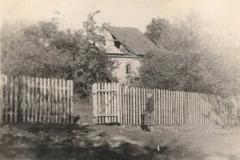 II wojna światowa, Widok na uszkodzony budynek