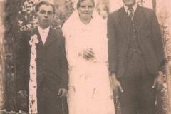 Ślub Anny i Józefa Morek