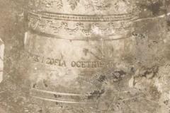 Dzwon ufundowany przez pp. Ocetkiewiczów