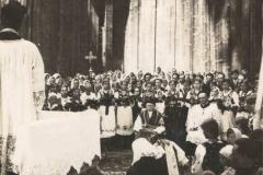 Prymicje ks. Aleksandra Kozieła w Przytkowicach, 17 VII 1938 r.