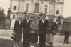 Młodzi z Przytkowic na dróżkach w Kalwarii