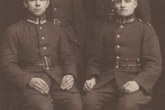 Józef Kucharczyk, Edek Gnojek, Walek Sikora