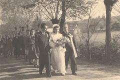 Wesele Zofia i Jan Kawaler, X 1946 r.