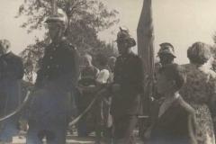 Uroczystość poświęcenia kamienia węgielnego 26 IX 1948 r.