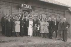 Wesele Zofia i Jan Kawaler  X 1946 r.