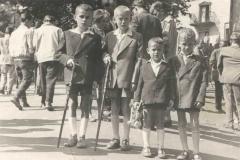 Dzieci na Kalwarii, koniec lat 50-tych