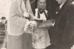 Zdjęcie ślubne ok. 1950 r.