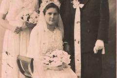 Ślub lata 50-e