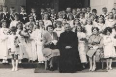 I Komunia święta - 1959 lub 1960 r.