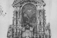 Ołtarz główny nowego kościoła