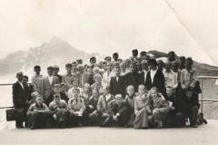 Wycieczka na Kasprowy Wierch 1960 r.