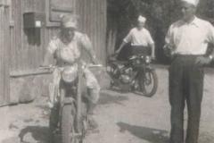 Nauka jazdy na motorze