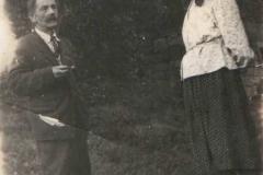 Kacper Maryon z żoną 1955 r.