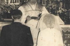 Ślub, który błogosławił ks. Stefan Stopka