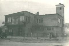 Remiza w stanie surowym 1972 r.