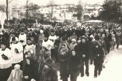 Pogrzeb ks St. Stopki - II 1978 r.