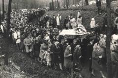 Pogrzeb ks. K. Puchalskiego - IV 1978 r.
