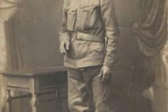 Mieszkaniec Przytkowic w mundurze - I wojna światowa