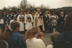 3 V 1991 r.Procesja z obrazem Matki Bożej Kalwaryjskiej
