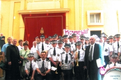 Wyjazd orkiestry do Watykanu 2003 r.